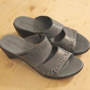 Merrell Gray Heel Sandals - Women's 7